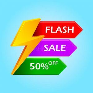 FLASH SALE 50% OFF!!!